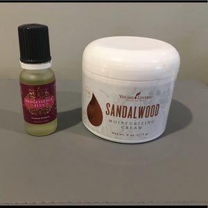 Young Living Progessence Plus & Sandalwood Cream